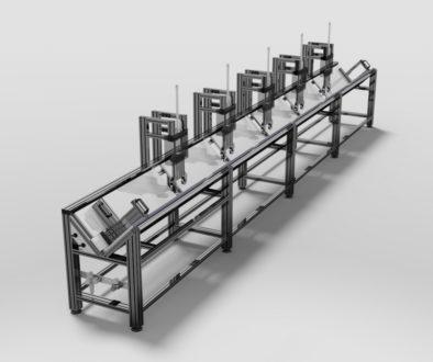 Profile modułowe aluminiowe