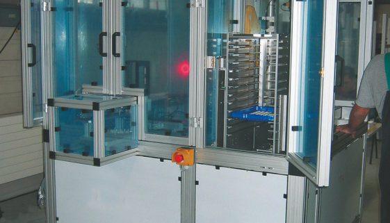 Obudowy maszyn z profili aluminiowych